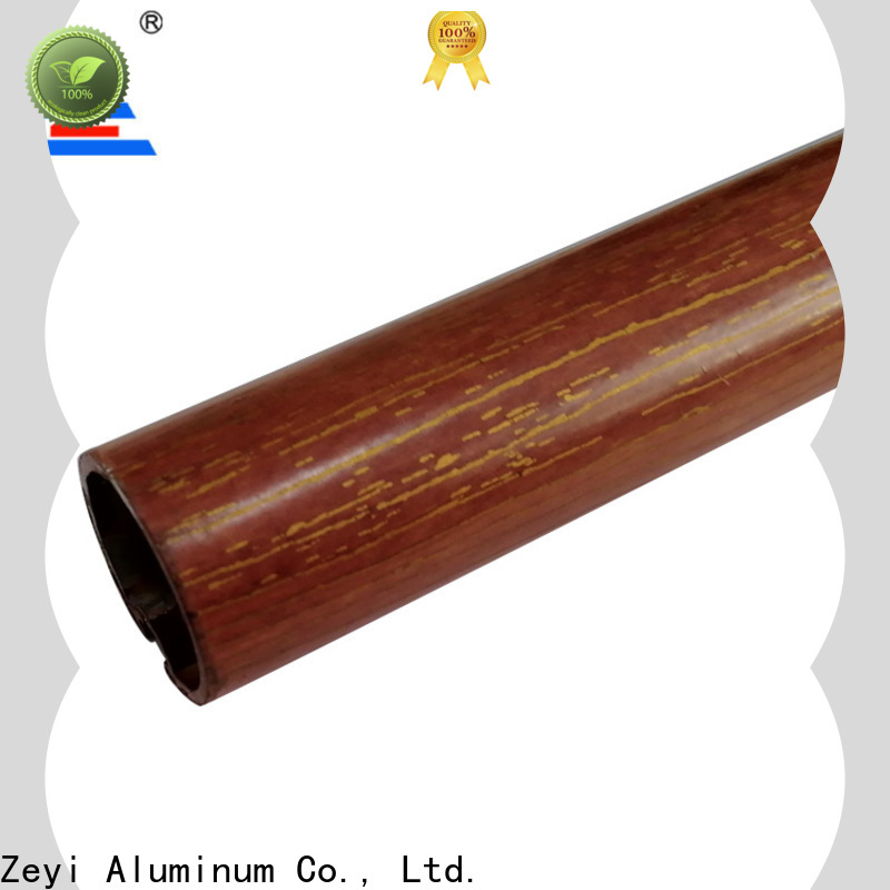 Zeyi wood door curtain pole manufacturers for decorate