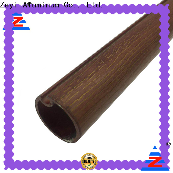 Top cheap wood curtain rods different manufacturers for industrial