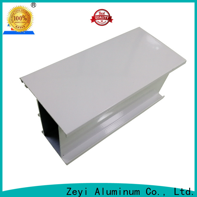 Latest domal aluminium section electrophoresis factory for architecture