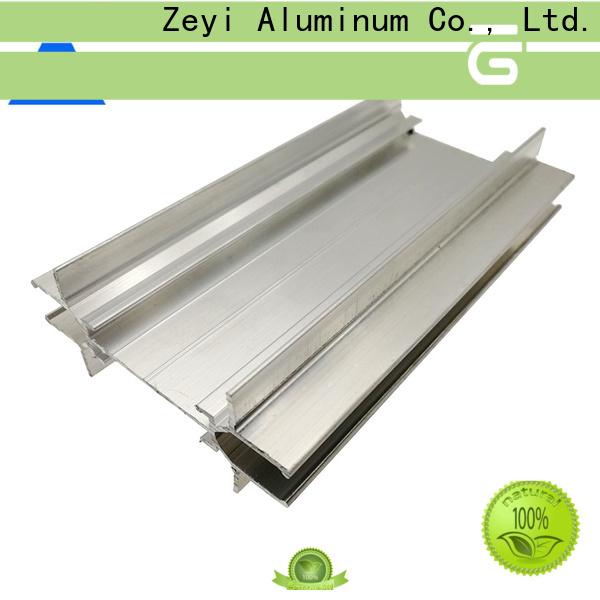 Zeyi Custom aluminium frame glass partition factory for decorate