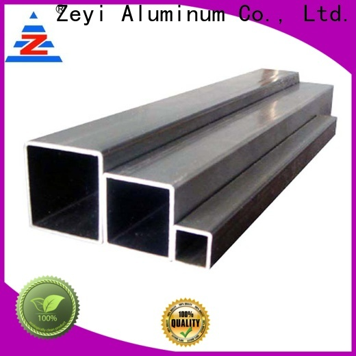 Zeyi Top large diameter aluminum pipe company for decorate