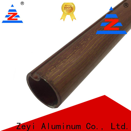 Zeyi Best brushed metal curtain rods manufacturers for architecture